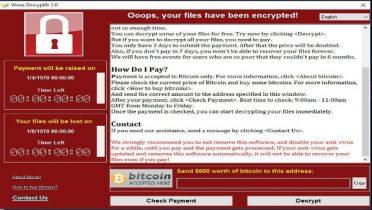 Tudo sobre o Ransomware WannaCry